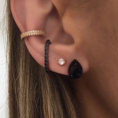 44 Ideas for piercing rook jewelry ear cuffs Rook Jewelry, Cute Jewelry, Unique Jewelry, Jewelry Accessories, Fake Piercing, Cute Piercings, Rook Piercing, Women's Earrings, Jewelery