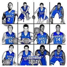 2012-2013 Duke Basketball team
