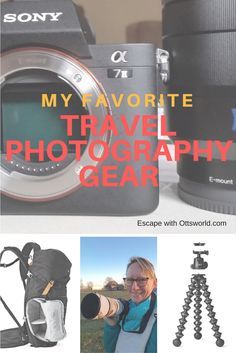 What travel photography gear I use when traveling, how I stay light but good quality, and what my experiences have been with the products. via @Ottsworld