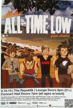 Need to listen to all time lows new song true colors under the hopeless records!! The song is epic!