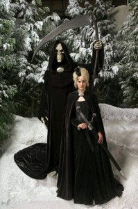 Death and Susan in Hogfather