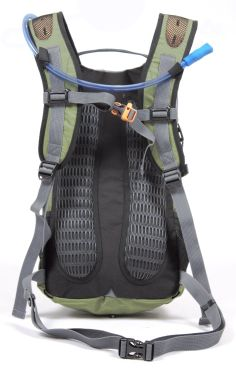 """Amazon.com: TETON Sports Oasis1100 Hydration Backpack with Bladder (18.5""""x 10""""x 7"""", Green): Sports & Outdoors"""