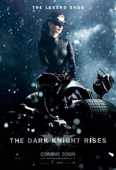 The Dark Knight Rises Catwoman movie poster