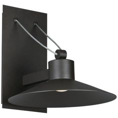 """Civic 8 1/4""""H Architectural Bronze LED Outdoor Wall Light - #32A91 