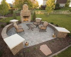 Now is the perfect time for fall landscaping.  Fire features, patios and outdoor living.