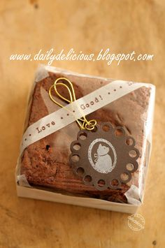 One egg brownie recipe from dailydelicious