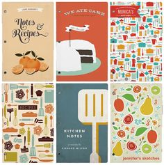 Selection of Food-Related Journals by minted.com