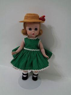 Madame-Alexander-Kins-Doll-Bent-Knee-Walker-BKW-Near-Mint-Embroidered-Underwear