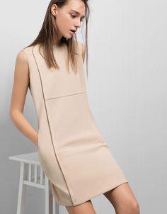 Fourth Street Dress - SaturdayClub Work Wardrobe, Stretch Fabric, High Neck Dress, Street, Model, How To Wear, Closet, Dresses, Fashion