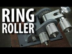 The Rollenator! (Ring Roller Build) - YouTube Sheet Metal Bender, Ring Roller, Welding And Fabrication, Homemade Tools, Youtube, Technology, Welding Ideas, Building, Rings