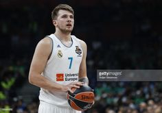 Luka Doncic of Real Madrid in action during the Turkish Airlines Euroleague Final Four Belgrade 2018 Semifinal match between CSKA Moscow and Real Madrid at Stark Arena on May 18, 2018 in Belgrade, Serbia.