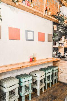 Maido Okonomiyaki streetfood Via Savone Binti Home-- outdoor stool diy idea