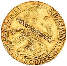 5 Ducats/Talar koronny medalowy-5 dukatów, (1)614, 16.9g. 39.2mm. <I>Bydgoszcz/Bromberg.</I> Struck from the same pair of dies as the 1614 Talar.… / MAD on Collections - Browse and find over 10,000 categories of collectables from around the world - antiques, stamps, coins, memorabilia, art, bottles, jewellery, furniture, medals, toys and more at madoncollections.com. Free to view - Free to Register - Visit today. #Coins #Gold #MADonCollections #MADonC