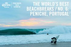 The World's Best Beachbreaks – Peniche, Portugal - via Stab Magazine 16.12.2014 | ...Peniche, specifically. For a heavy, hollow A-frame called Supertubes even more specifically. Cuz the Atlantic is still wild and emerald in Portugal many centuries later, the shores warm and beckoning, the fish still so damn delicious. With one of the best waves in all of Europe draining over sand that begs a modern-day exploration of your own.