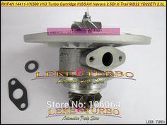 148.32$  Watch here - http://aliy3q.worldwells.pw/go.php?t=32697934273 - Free Ship Turbo Cartridge Chra Core RHF4H 14411-VK500 VN3 VA420058 VB420058 For Nissan Navara MD22 2.5L 02- X-Trail YD22ETI 2.2L