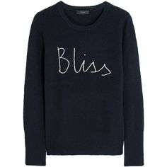 J.Crew + Hugo Guinness Bliss knitted sweater (£63) ❤ liked on Polyvore