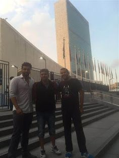 Half Girlfriend 1st Bollywood film to shoot at the UN Headquarters in Newyork  http://spanishvillaentertainment.blogspot.in/2016/09/half-girlfriend-1st-bollywood-film-to.html