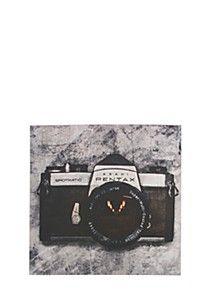 RETRO CAMERA 40X40CM WALL ART Retro Camera, Wall Art, Wall Decor