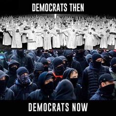Antifa and the KKK , both cowardly groups . People who are proud of what they stand for and do not plan on breaking the law do not hide their faces. Liberal Hypocrisy, Liberal Logic, Politicians, Socialism, Hard Truth, Truth Hurts, John Podesta, Political Memes, Political Topics