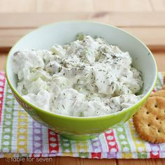 table for seven: Cucumber Dill Spread