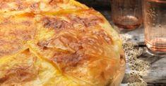 Γαλατόπιτα με φύλλο κρούστας και σιμιγδάλι από την Αργυρώ Μπαρμπαρίγου | Η παραδοσιακή γαλατόπιτα Μάνης είναι μια απ'τις πιο ωραίες που έχετε δοκιμάσει!
