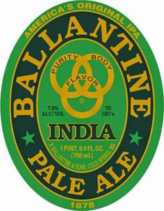 mybeerbuzz.com - Bringing Good Beers & Good People Together...: Ballantine IPA - America's Original IPA Returns