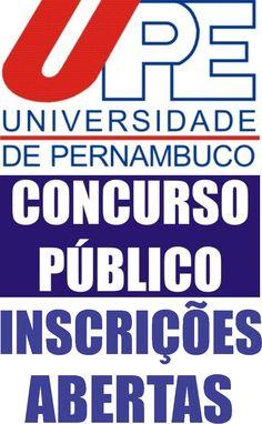 CONCURSO PÚBLICO: UPE ABRE INSCRIÇÕES COM 388 VAGAS PARA NÍVEIS MÉDIO E SUPERIOR http://blogdoronaldocesar.blogspot.com.br/2017/06/concurso-publico-upe-abre-inscricoes.html