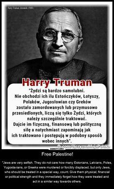 Harry Truman, Poland Facts, Presidents, Meme, Humor, How To Plan, Education, History, Literatura