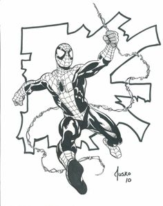 Spidey by Jusko