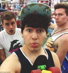 Jc Caylen ☁ Connor Franta and Ricky Dillon