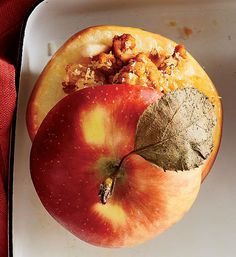 ... are in perfect balance with these chicken curry stuffed baked apples