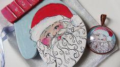 santa gift set by FallingLadies on Etsy $15.00