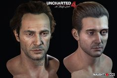 Here some closeup details of the hair on main characters. Using 4k high-res capture.  Here are some features we used to create the volumetric look of the hair, realtime in-game: 1. Using baked shadow map and wrap diffuse to fake the shadow. It helps us to get the feeling of depth and volume of the hair.  2. Scatter is really important for blonde hair to look right. It's because the lights scatter between hair strands. We can't afford ray-tracing, of course, so we approached the similar…