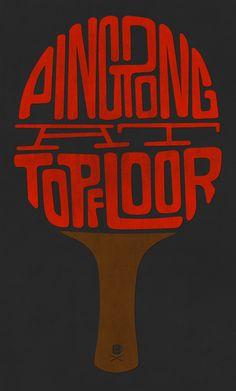 ping pong at top floor