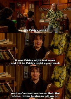 Friday night...