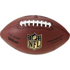 Wilson NFL Pro Replica Game Football - Size: OFFICIAL (019908368)
