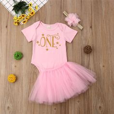 2019 nueva moda verano niño niños bebé niñas 1st cumpleaños Tops traje de  falda de tutú de tul vestido de traje de niños ropa 452d1c51be33