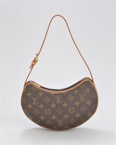 Louis Vuitton LUIB Monogram Croissant PM Shoulder Bag, circa 2002, still would wear this ;)