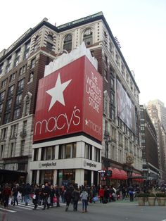 The original Macy's Department Store at Herald Square in New York City