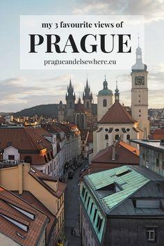 My favourite views of Prague, Czech Republic