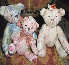 My Patchwork Bear Family