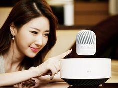 LG's Levitating Speaker Has A 10 Hour Battery Life