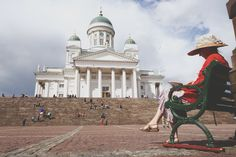 Senate square . Helsinki . Finland