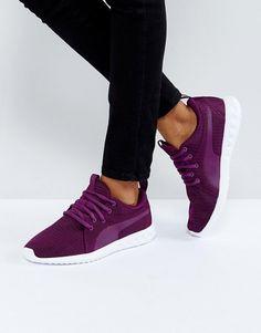 Puma Carson Sneakers In Dark Purple