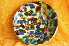 gran cuenco lebrillo cerámica almeria nijar and - Comprar Porcelana y Cerámica Fajalauza en todocoleccion - 149798538 Granada, Ceramics, Antiques, Shopping, Porcelain, Ceramica, Antiquities, Pottery, Antique