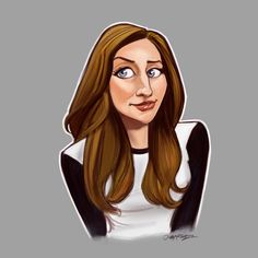 Chelsea Peretti by johnmartinezart.deviantart.com on @DeviantArt