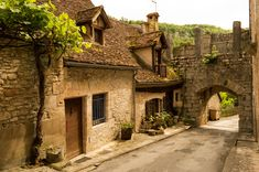 Rocamadour's_Porte_Basse South Of France