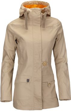 Woox Nella Ladies´ Parka Sand dámský kabát