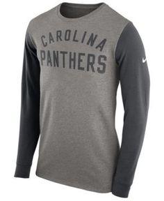 Nike Men s Carolina Panthers Heavyweight Long Sleeve T-Shirt Men - Sports  Fan Shop By Lids - Macy s e9b193ae9