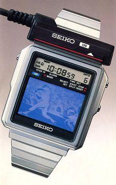 #1982 Seiko TV Watch #Japan1982
